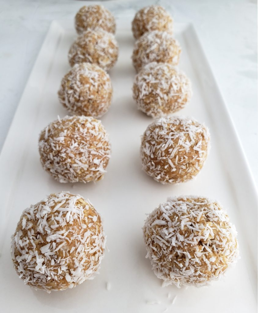 Coconut Power Balls